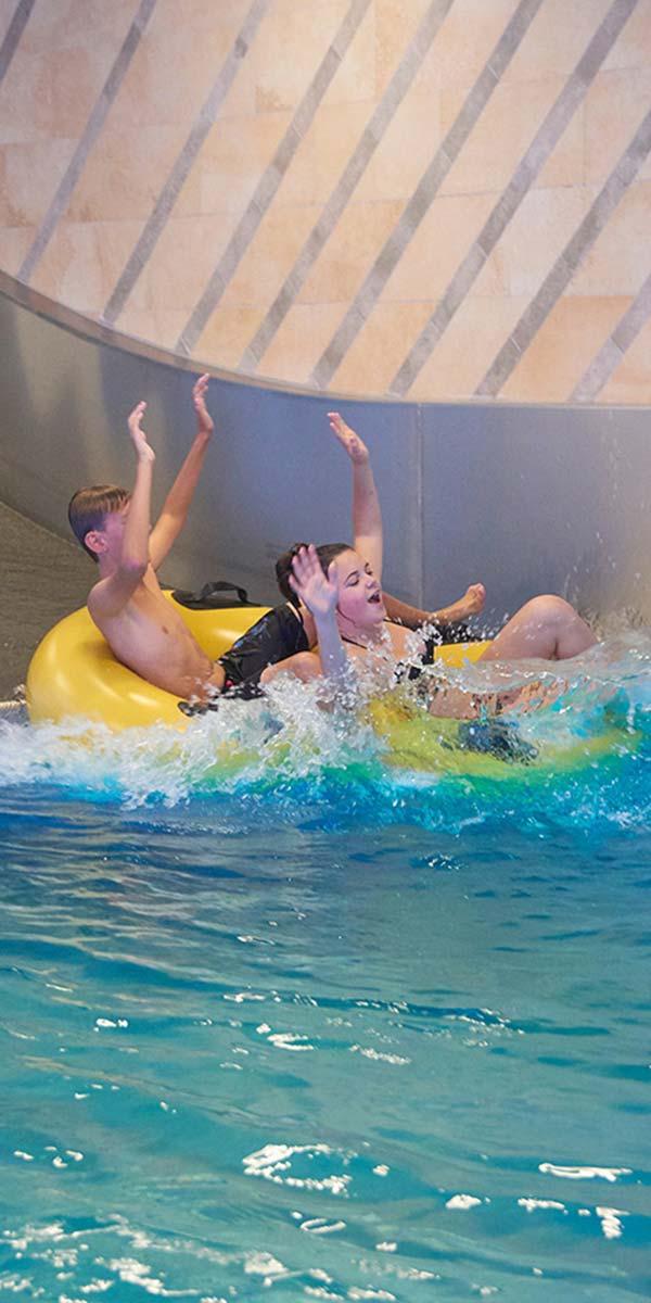 Schlosshotel Fiss Family Spa Splash waterworlds