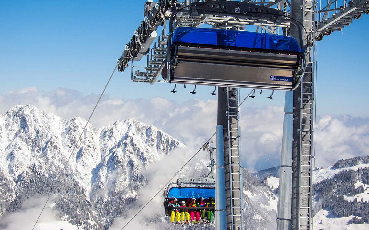 Ski Juwel Alpachtal Tyrol family skiing