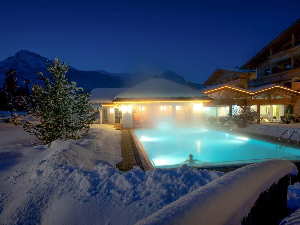Ski and wellnesshotel Pirchnerhof Alpbachtal Tyrol
