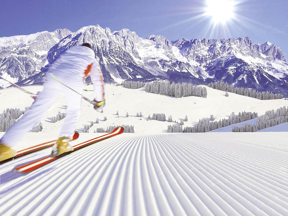 Skiing in Kitzbühel, Tyrol, Austria with Niche Destinations