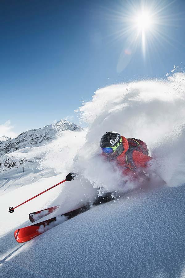 Stubai Glacier Tyrol Powder Department