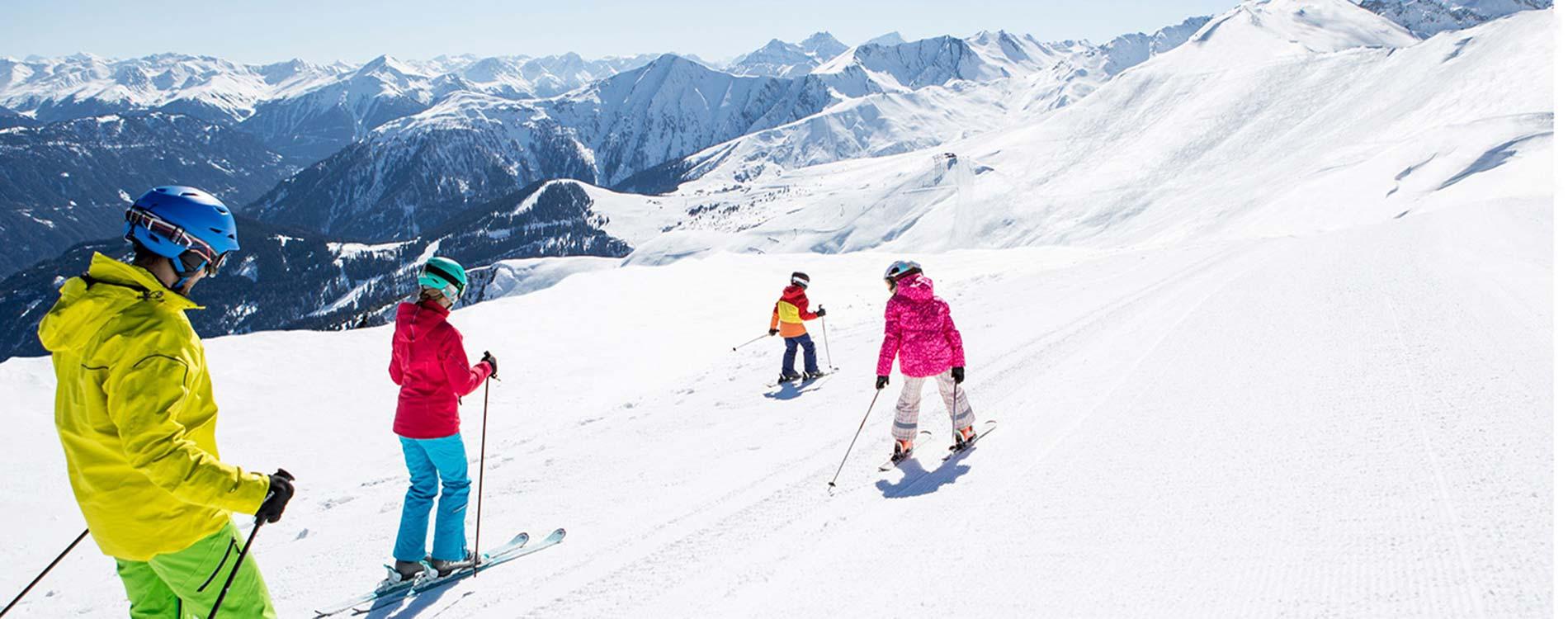 TVB Serfaus-Fiss-Ladis family skiing