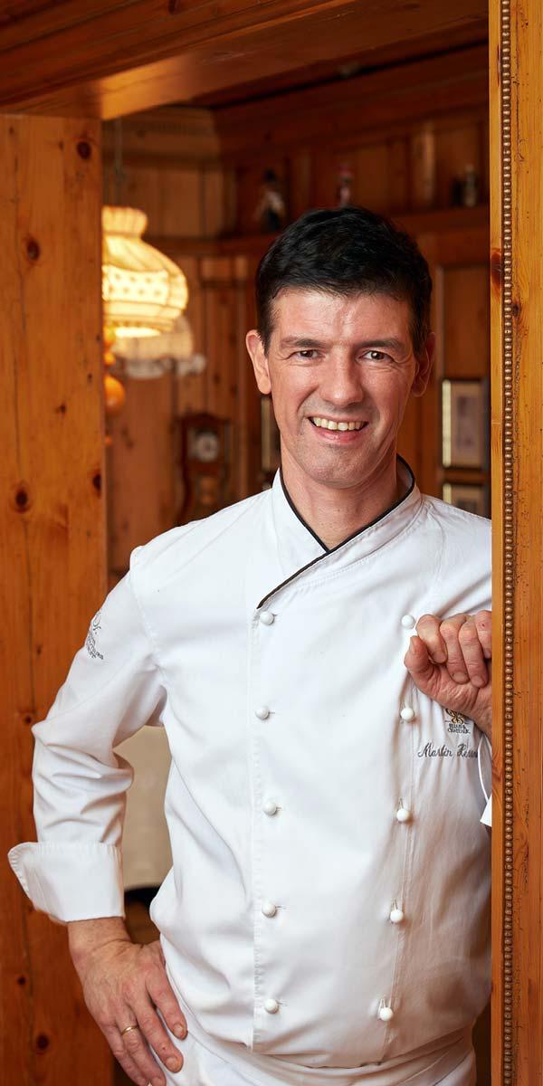 2 Michelin star Chef Martin Herrmann Le Pavillon Black Forest