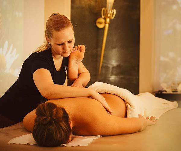5 star Spa Hotel Jagdhof get fit sports massage