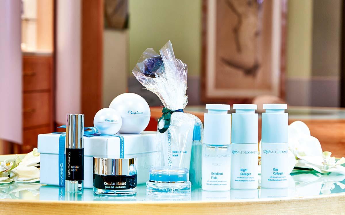 Beauty Break QMS treatments 5 star Hotel Tyrol