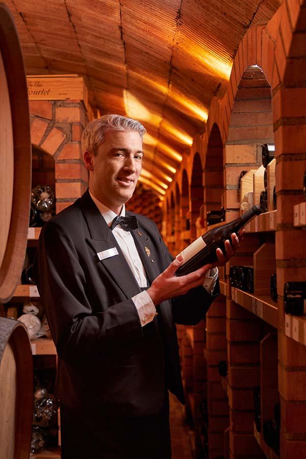 Le Pavillon Black Forest wine cellar