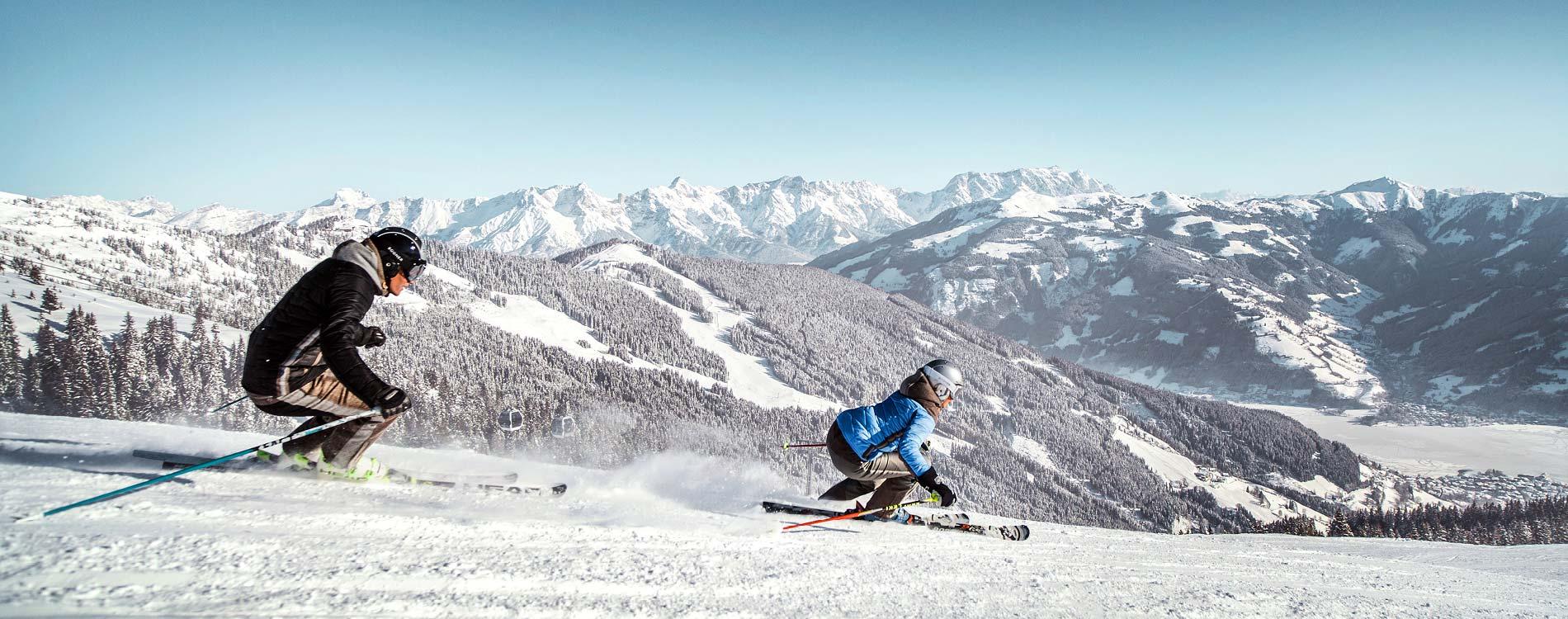 Skiing SalzburgerLand