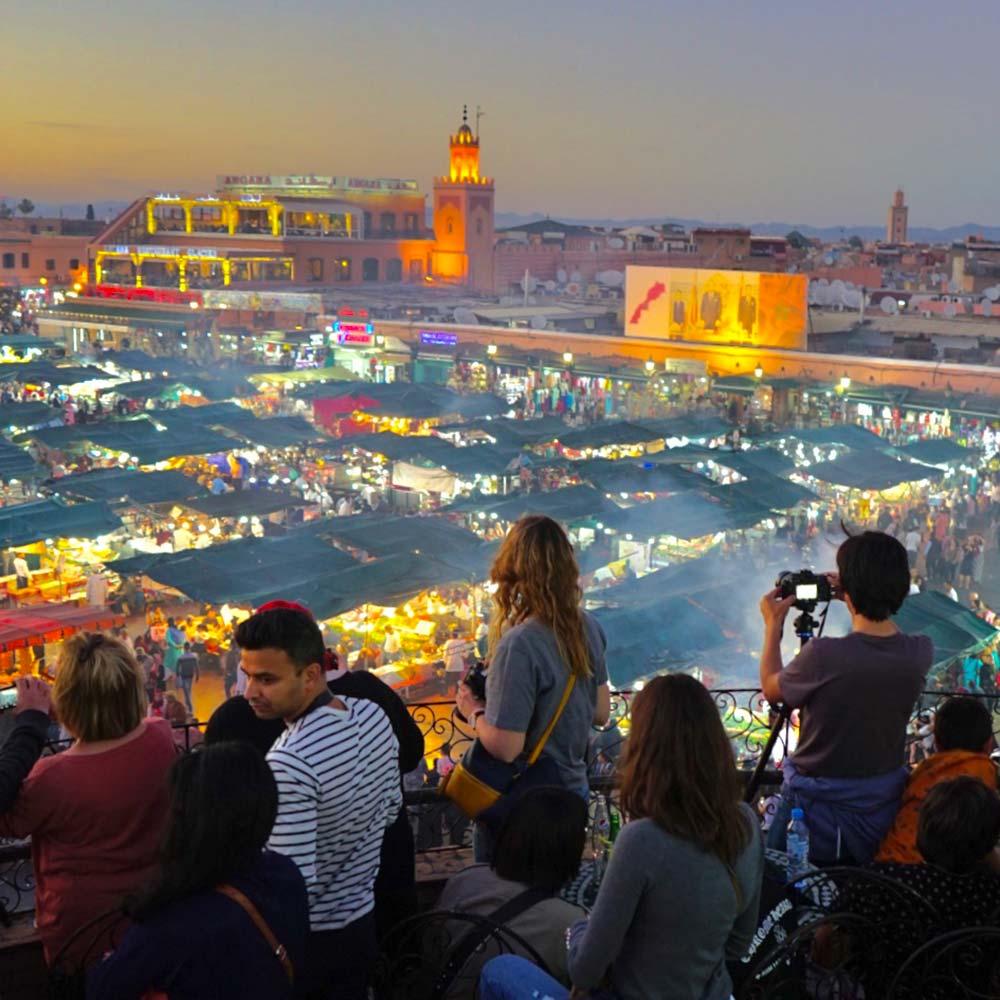 Marrakech Marrakech discover individually Morocco Jemaa El Fna