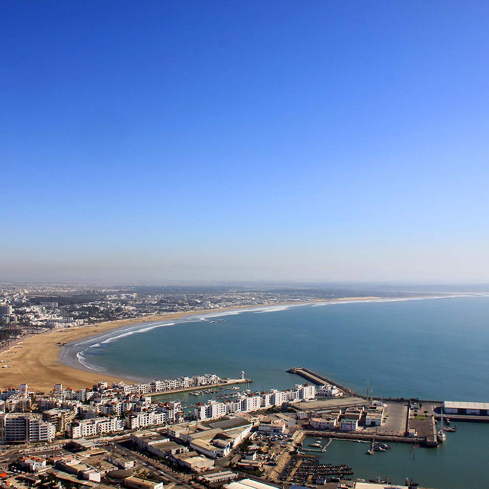 Niche Destinations Agadir tailor made trip Morocco seafront