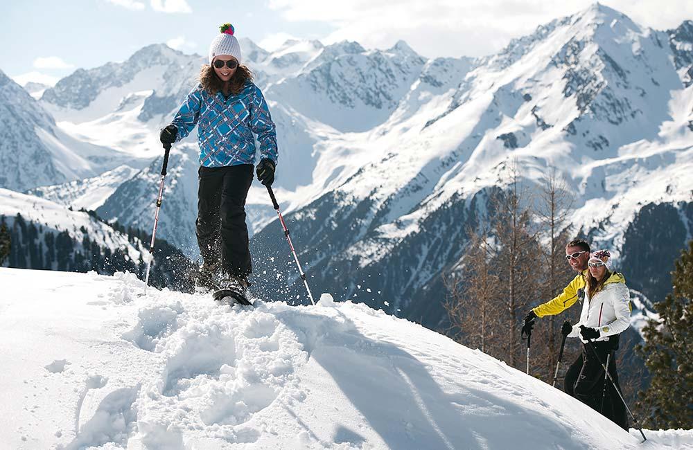 Snowshoeing in Stubai gentle winter sports tips