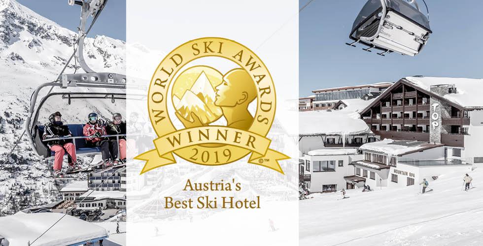 World Ski Awards 2019 Kitzbuehel TOP Hotel Hochgurgl
