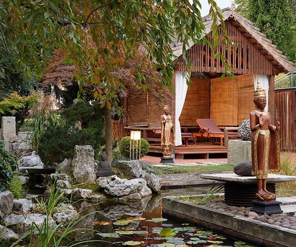 European Ayurveda Resort MANDIRA Styria Garden summer
