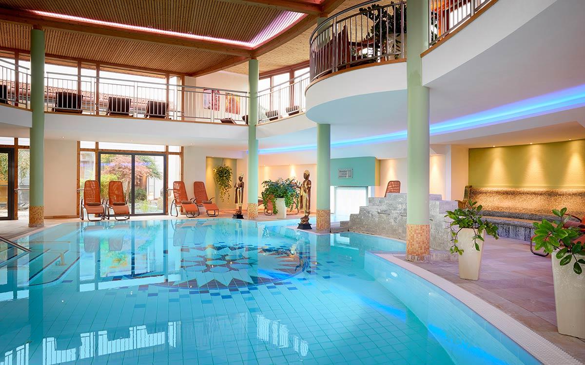 European Ayurveda Resort Mandira Styria indoor pool