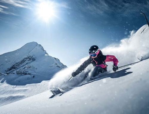 Ski package holiday