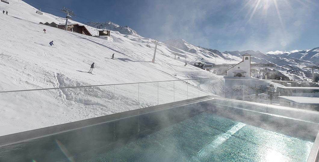 For PISTE FREAKS: Ski-in & Spa-out at the TOP Hotel Hochgurgl, Tyrol, Austria