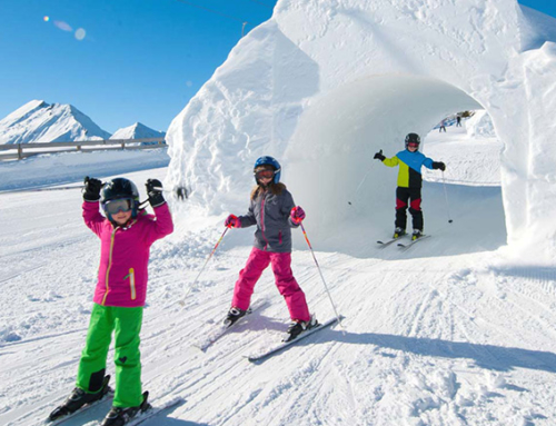 Ski holiday with kids