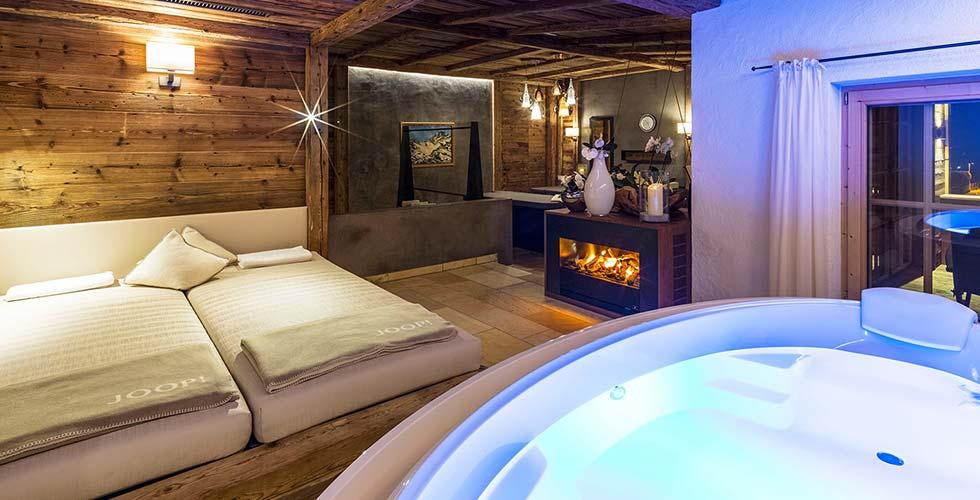 5 star SPA Hotel Jagdhof Private Spa Chalet