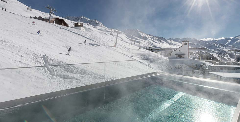 SKI-IN and SPA-OUT IN THE SUN TOP Hotel Hochgurgl Tyrol, Austria