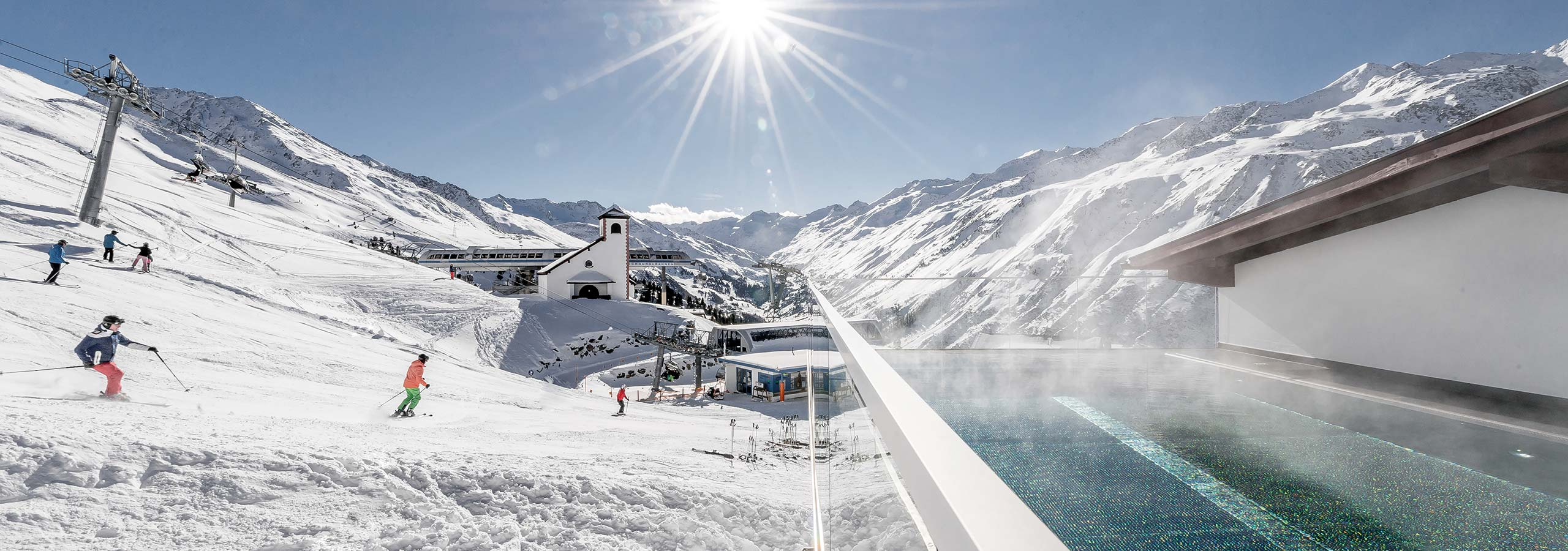 Ski in Spa out 5 star superior TOP Hotel Hochgurgl