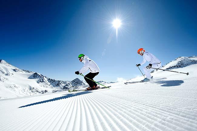 Ski spa break 5 star hotel Jagdhof Tyrol Austria