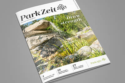 ParkZeit health magazine Park Igls preview