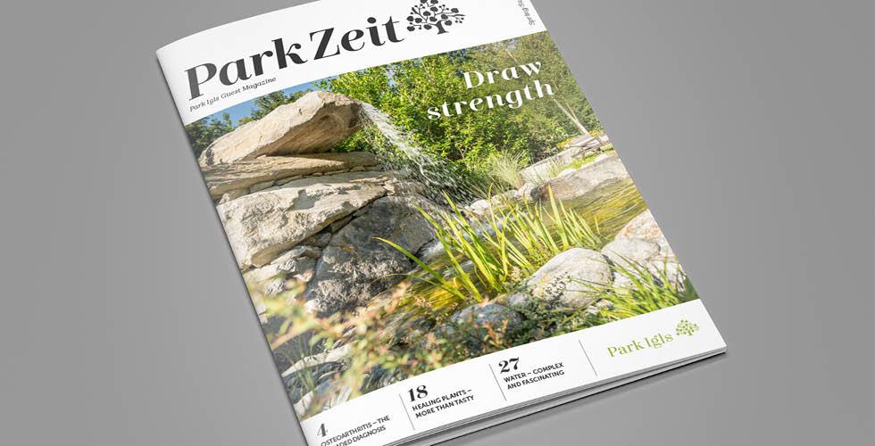 ParkZeit health magazine Park Igls
