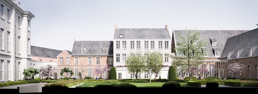 Botanic Sanctuary Antwerp - Location