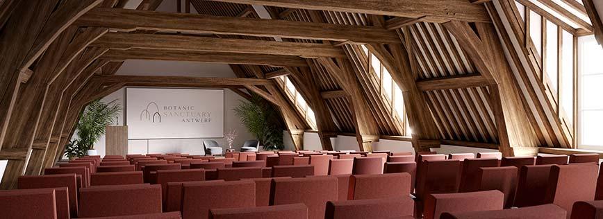 Botanic Sanctuary Antwerp - Meetings - Location
