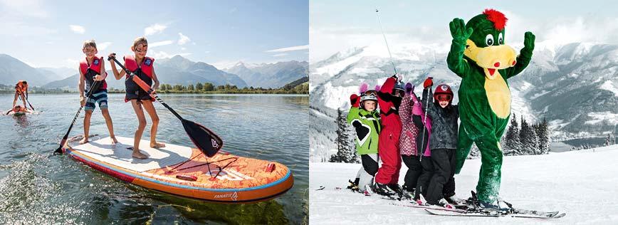 Sportresort Alpenblick Hotel Zell am See Austria Miniwebsite Niche Destinations - Families